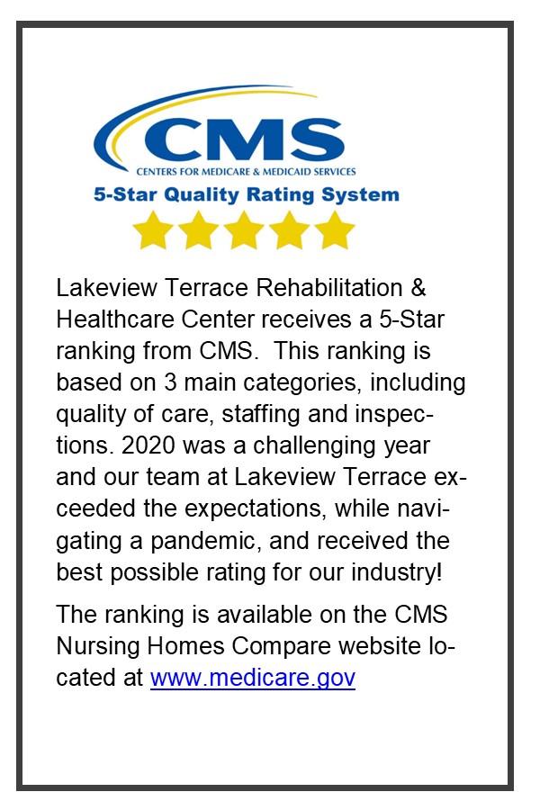5 Star CMS Rating