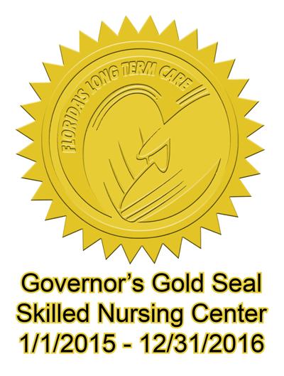 Govenor's Gold Seal