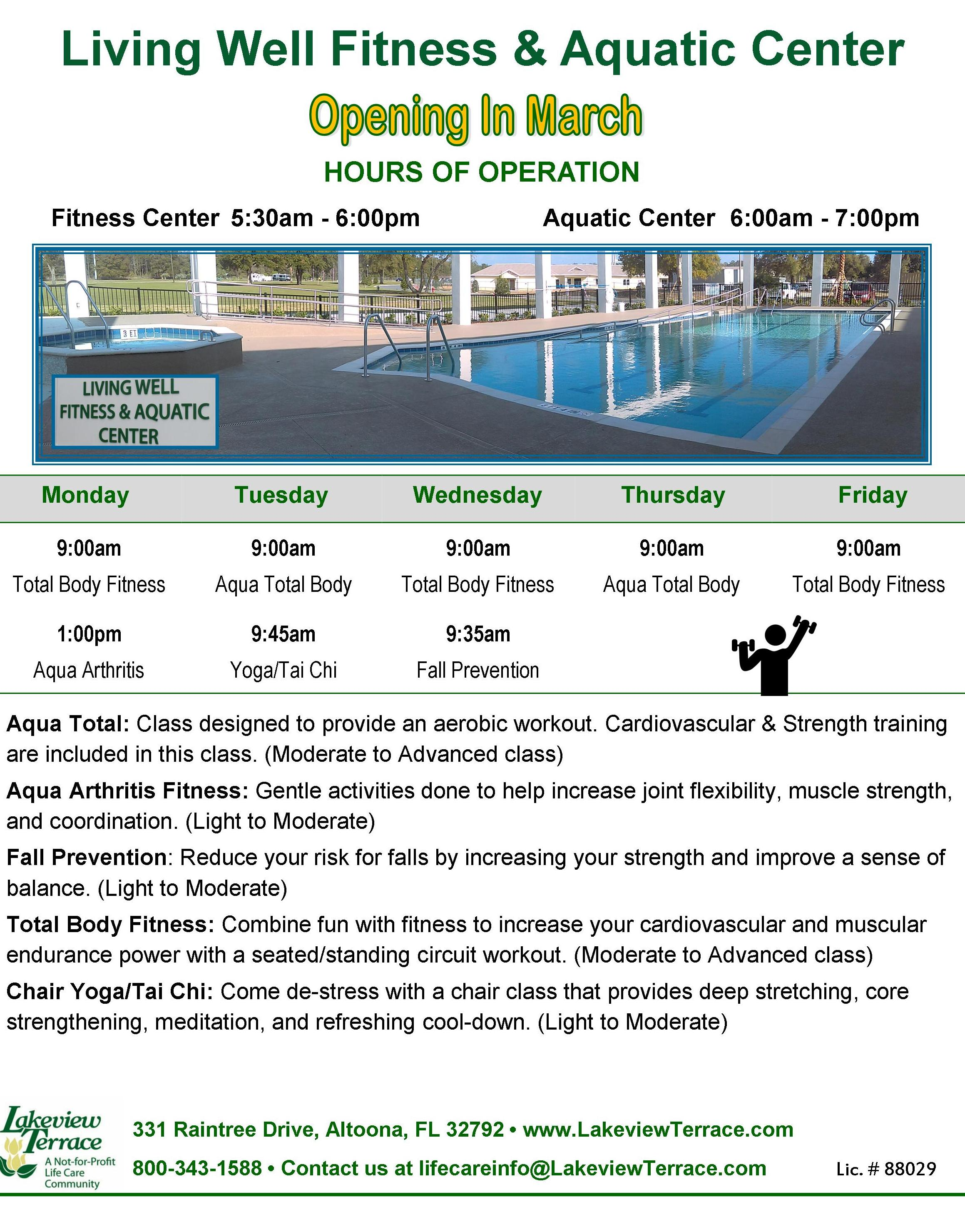 Living Well Fitness & Aquatic Center