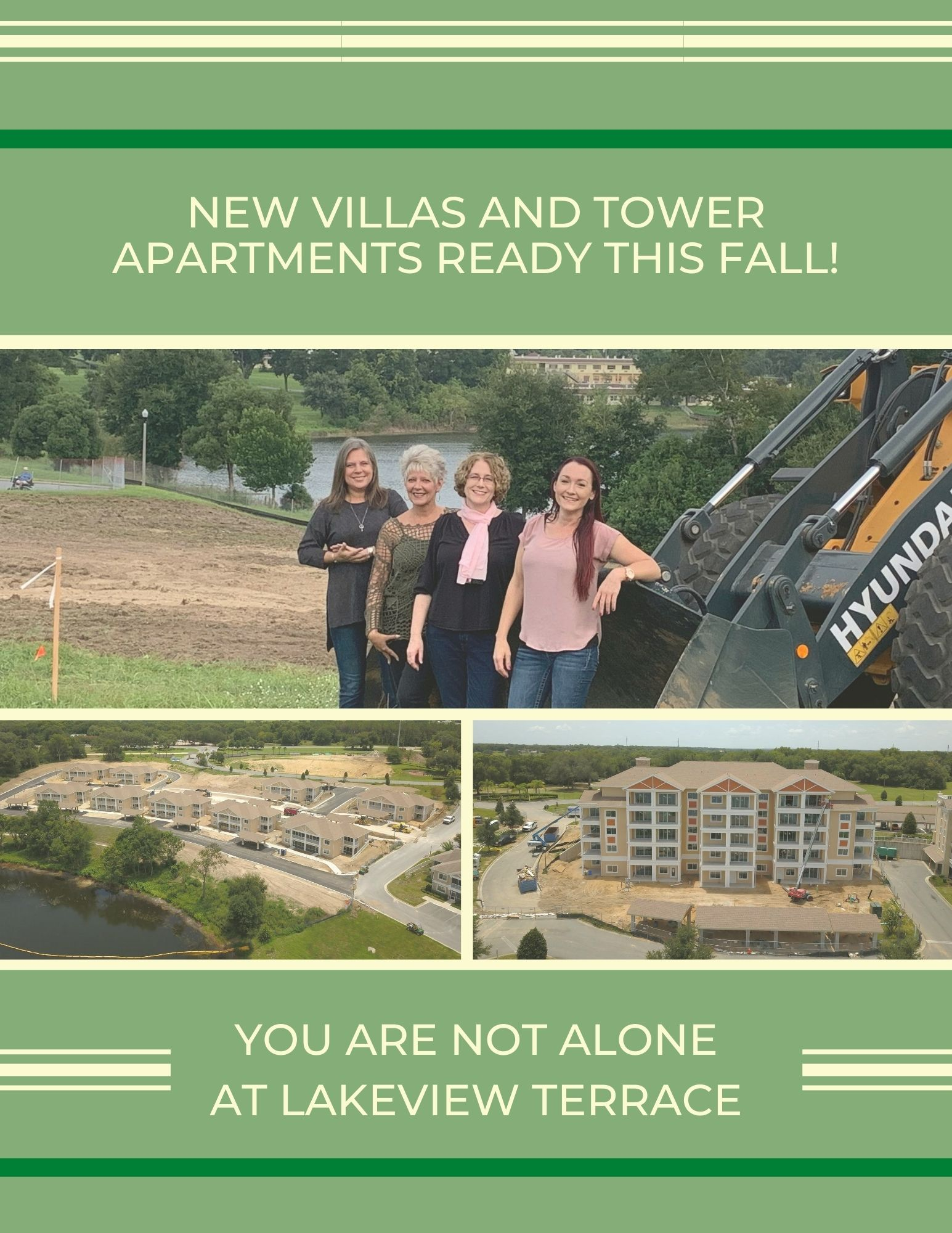 New Villas and Tower Apartments