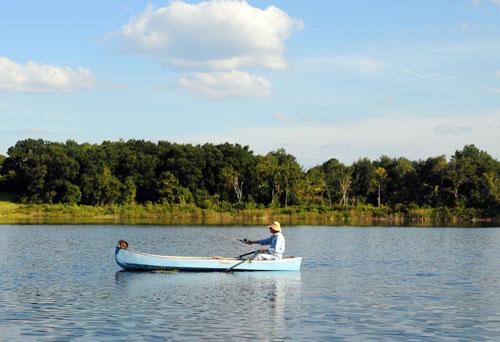 Canoe Fishing 01