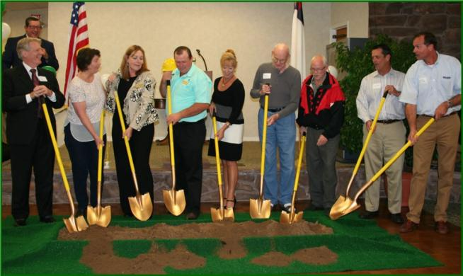 Lakeview Terrace Groundbreaking Ceremony