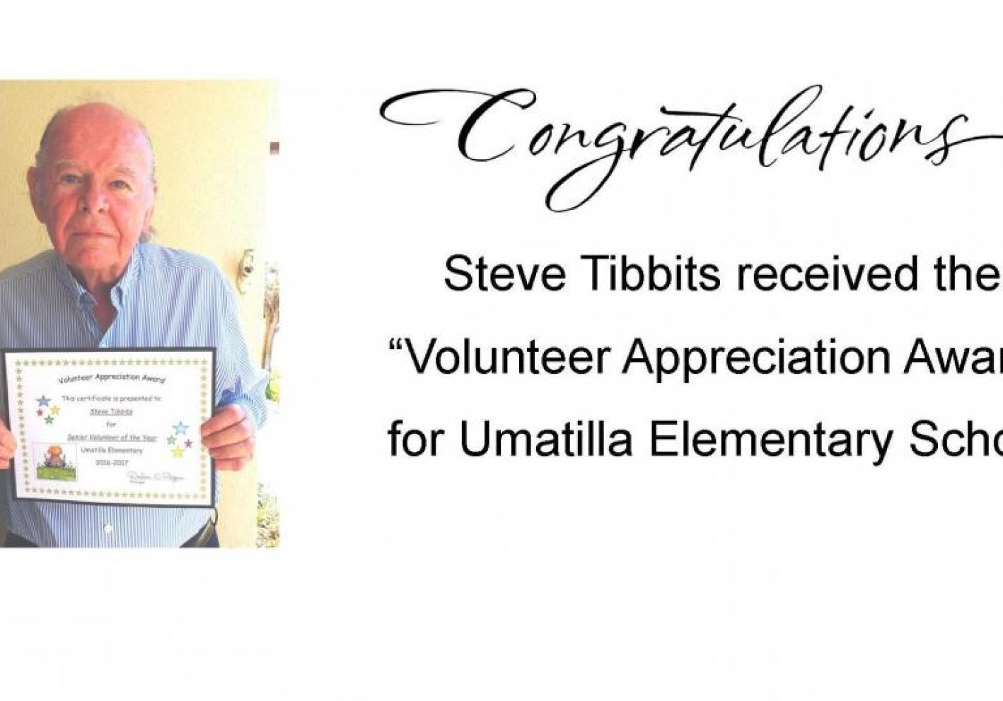 Volunteer Appreciation Award