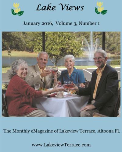 January 2016 Lake Views Magazine Cover