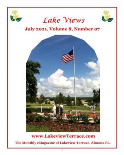 July Lake Views Emag. Cover