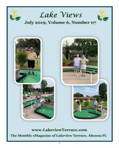 July Lake Views Cover