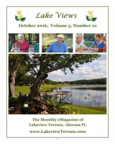 October 2016 Lake Views E-Magazine