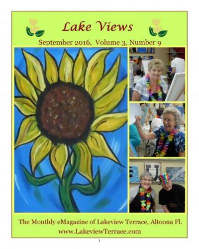 September 2016 Lake Views E-Magazine