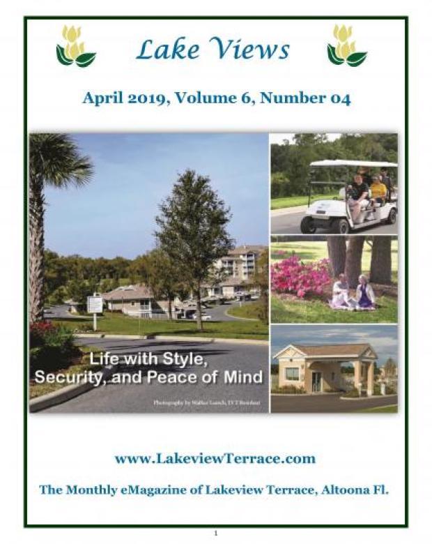 April 2019 Lake Views
