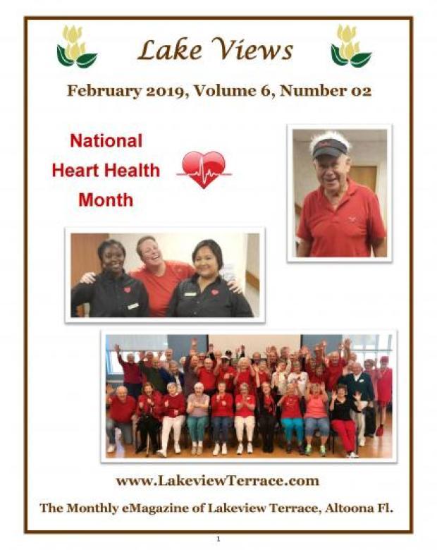 February 2019 Lake Views