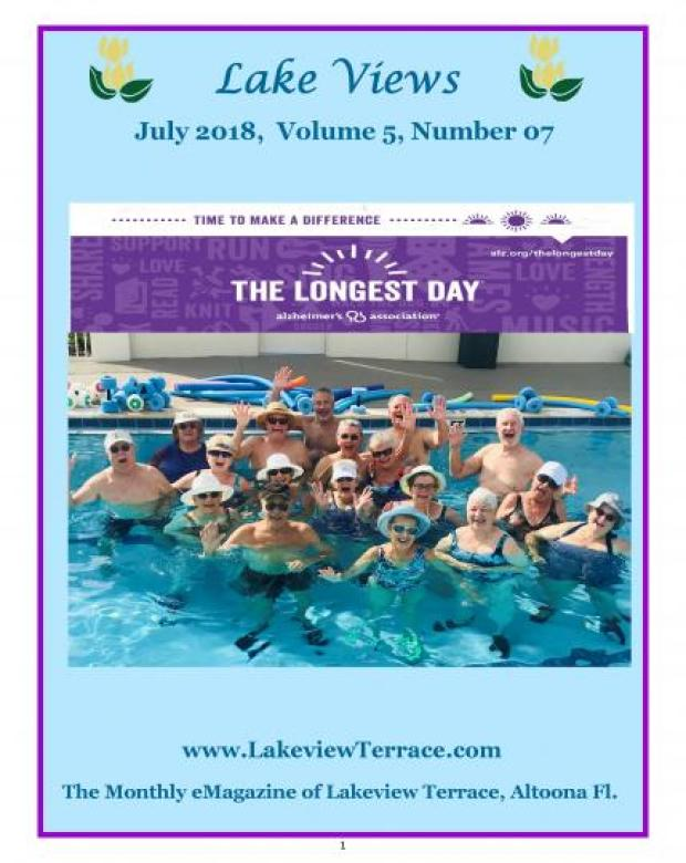 July Lake Views E-magazine