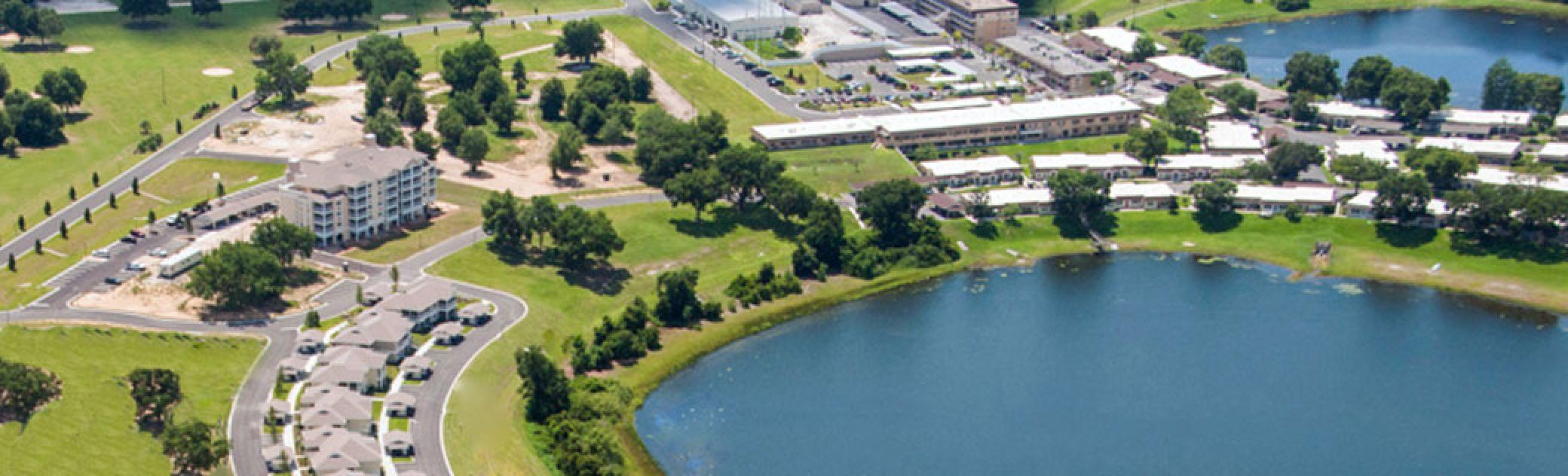 Lakeview Terrace Aerial View