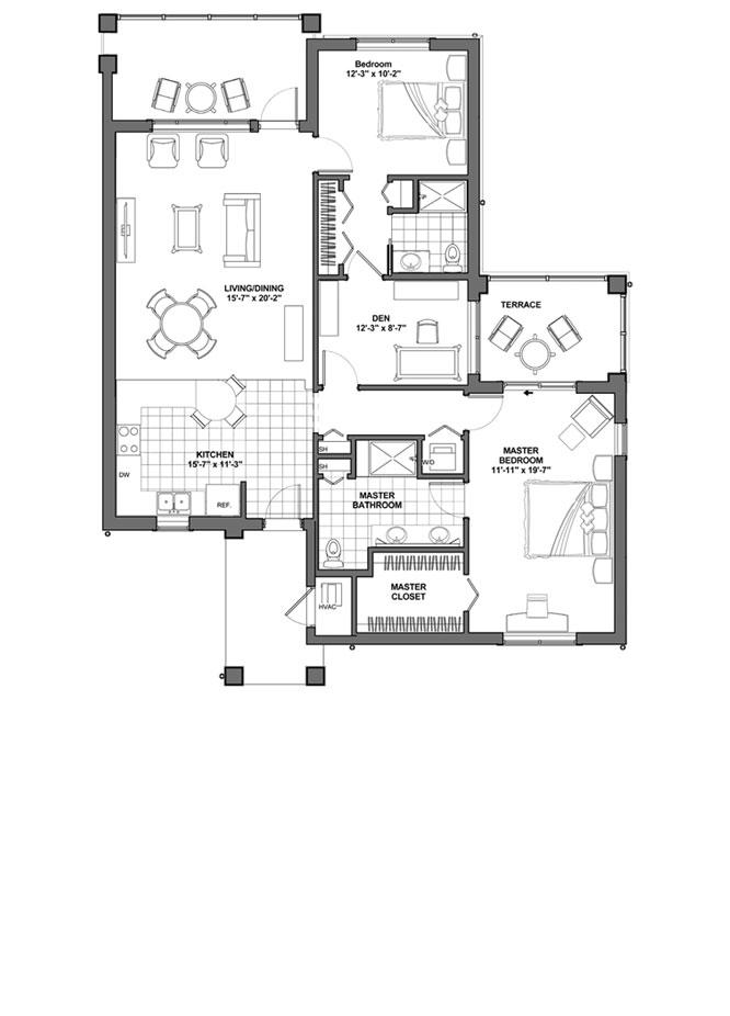 Floor Plans | A CCRC Retirement Community in Florida - Lakeview Terrace